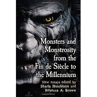 Monsters en gedrocht van de Fin de Siecle naar het Millennium: New Essays