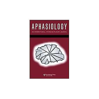 38e conférence de Aphasiology clinique: un numéro spécial de Aphasiology