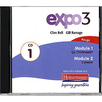 Expo 3 Rouge Audio CDs pack of three