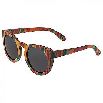 Spektrum Kekai Holz polarisierte Sonnenbrille - Multi/schwarz