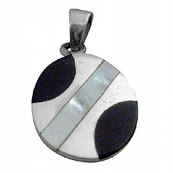 Confetti Round Mother Of Pearls Pendant Christmas Gift