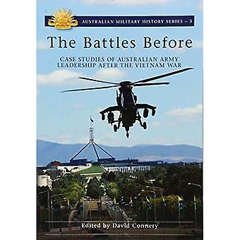 The Battles Before: Case Studies of Australian Army Leadership After the Vietnam War