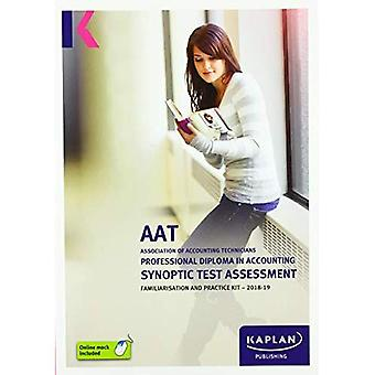 PROFESSIONAL DIPLOMA IN ACCOUNTING SYNOPTIC TEST ASSESSMENT - FAMILIARISATION� AND PRACTICE KIT