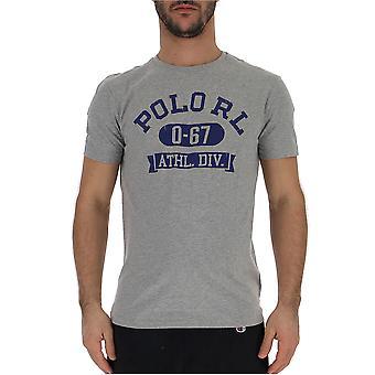 Ralph Lauren Blue/grey Cotton T-shirt