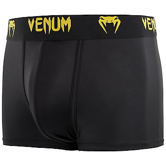 Venum Mens Classic Boxer Briefs Underwear - Black/Yellow