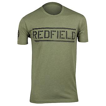 Capcom Mens Resident Evil BSAA Bootcamp T-Shirt - Heather Olive