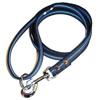 K9-sport super-Grip bånd med håndtak, svart & blå