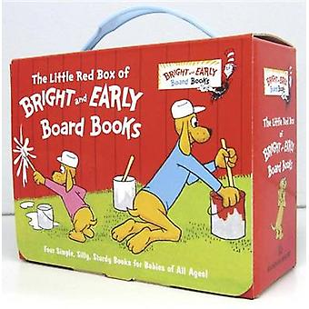The Little Red Box of Bright and Early Board Books by P D Eastman - M