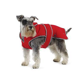 StormGuard röd vattentät hund Coat - stor