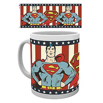 DC Comics Superman Vintage Boxed drinken mok