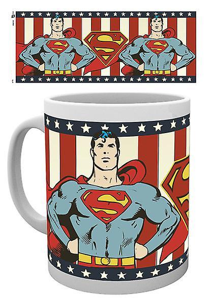 DC Comics Superman Vintage Boxed drinken mok