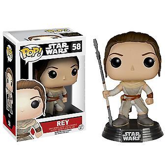 Star Wars Rey Episode VII the Force Awakens Pop! Vinyl