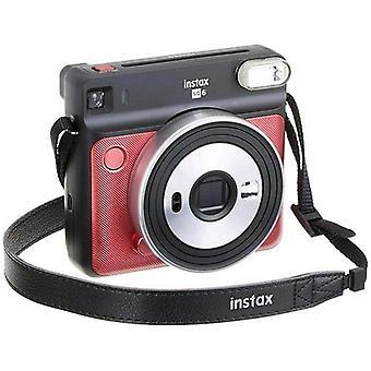 Fujifilm instax square sq6 fotocamera sviluppo instantaneo ruby red