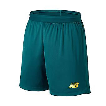 New Balance Celtic FC 2019/20 Kinder Auswärts Fußball Short Green