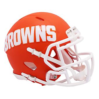 Riddell Speed Mini Football Helm - NFL AMP Cleveland Browns