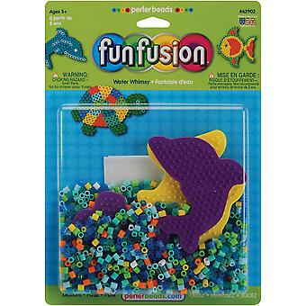 Perler Fuse Bead Activity Kit Fun Fusion Water Whimsey 62902