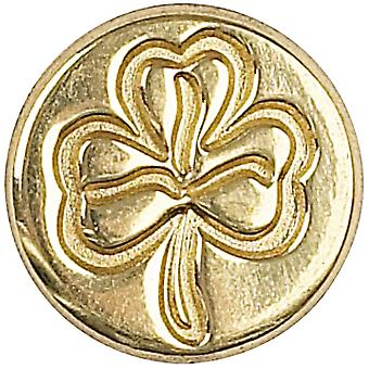 Decorative Seal Coin Shamrock 727Shr