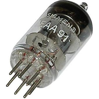 Tube EAA/EB 91 = 6 AL 5, Double diode, Base, 7 Pin