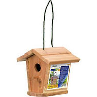 Stocker garden Tiffi - Casita Wooden Birds 17 X 17 XH 17.5 Cm