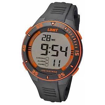 Limit Mens Grey Strap Digital Dial 5575.24 Watch