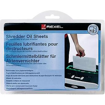 Shredder lubricant sheets Rexel 2101948 12 pc(s)