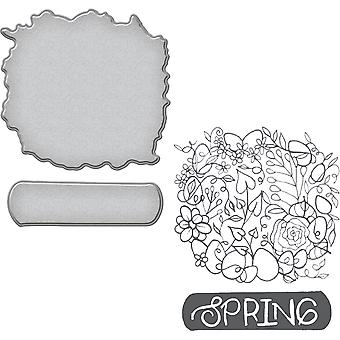 Spellbinders Stamp & Die Set By Stephanie Low-Spring SDS056