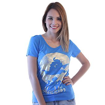 Disney Aladdin  Blue Licensed T-Shirt