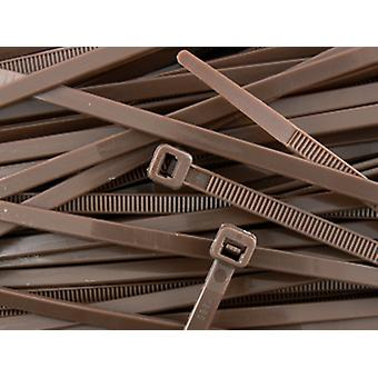 Nylon Cable Ties Cable Wrap Zip Ties Brown 300 x 4.8 Choose Quantity