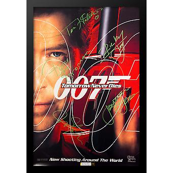 James Bond: Tomorrow Never Dies - Signed Movie Poster