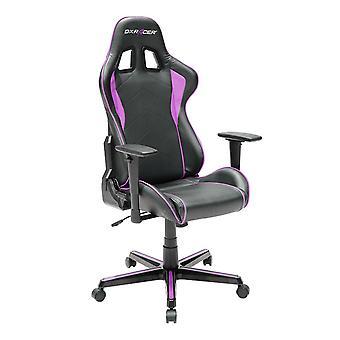 DX Racer DXRacer OH/FH08/NP High-Back Ergonomic Computer Chair PU(Black/Pink)