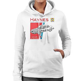 Haynes Owners Workshop Manual 0765 Saab 900 Turbo vrouwen de Hooded Sweatshirt