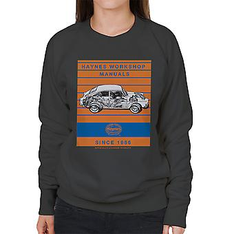 Haynes Workshop Manual 0084 VW 1600 Fastback Stripe vrouwen Sweatshirt