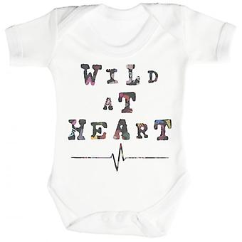 Spoilt Rotten Wild At Heart Short Sleeve Baby Bodysuit