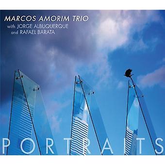 Marcos Amorim Trio - portrætter [CD] USA importerer