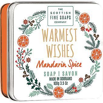Scottish Fine Soaps Wamest Wishes Soap Tin