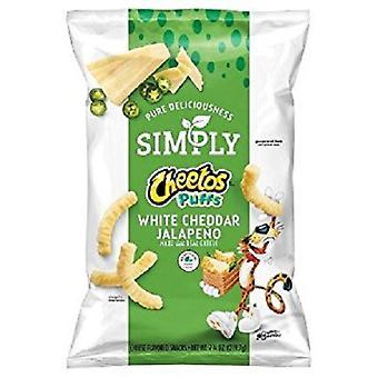 Po prostu Jalapeno Cheddar biały chrupki Cheetos