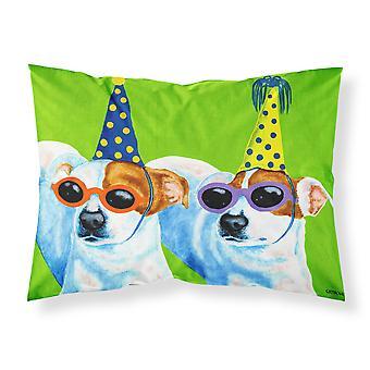 Partylöwen Jack Russell Terrier Stoff Standard Kissenbezug