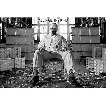Breaking Bad - Walter White - Room Full of Cash Poster Poster Print by