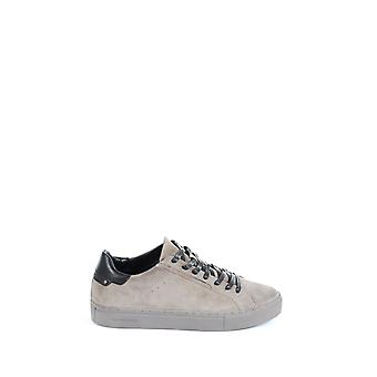 Crime London Herren 1140415 Beige/Grau Leder Sneakers