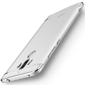 Cell phone cover case for Huawei mate 10 bumper 3 in 1 cover chrome silver