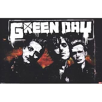Green Day - Brick Poster Print
