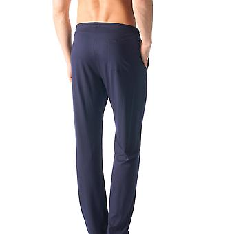 Mey 65660-668 Men's Jefferson Blue Solid Colour Pajama Pyjama Pant