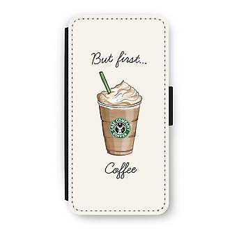 Samsung Galaxy S8 Flip caso - mas primeiro café
