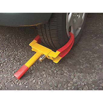 Streetwize SWWL2 Wheel Clamps Claw Style- Yellow/Red