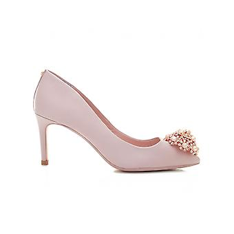 Ted Baker broche avant central talon Satin chaussures