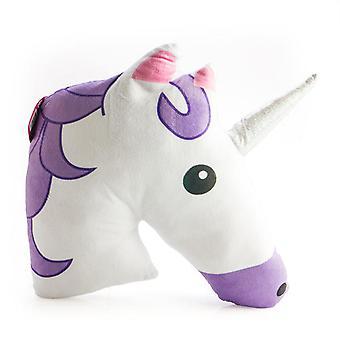 Purple Unicorn Plush Cushion