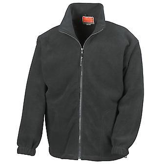 Result Mens Full Zip Active Full Zip Anti Pilling Fleece Jackets