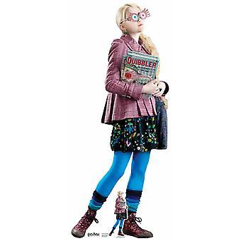 Luna Lovegood z Harry Potter Lifesize tektury wyłącznik / Standee