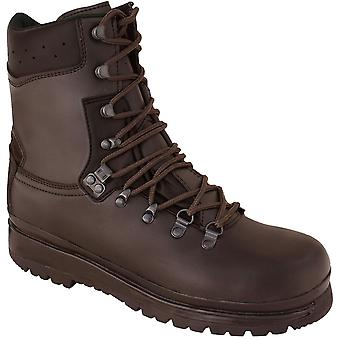 Highlander Mens Elite Forces Waterproof Leather Lace Up Boots