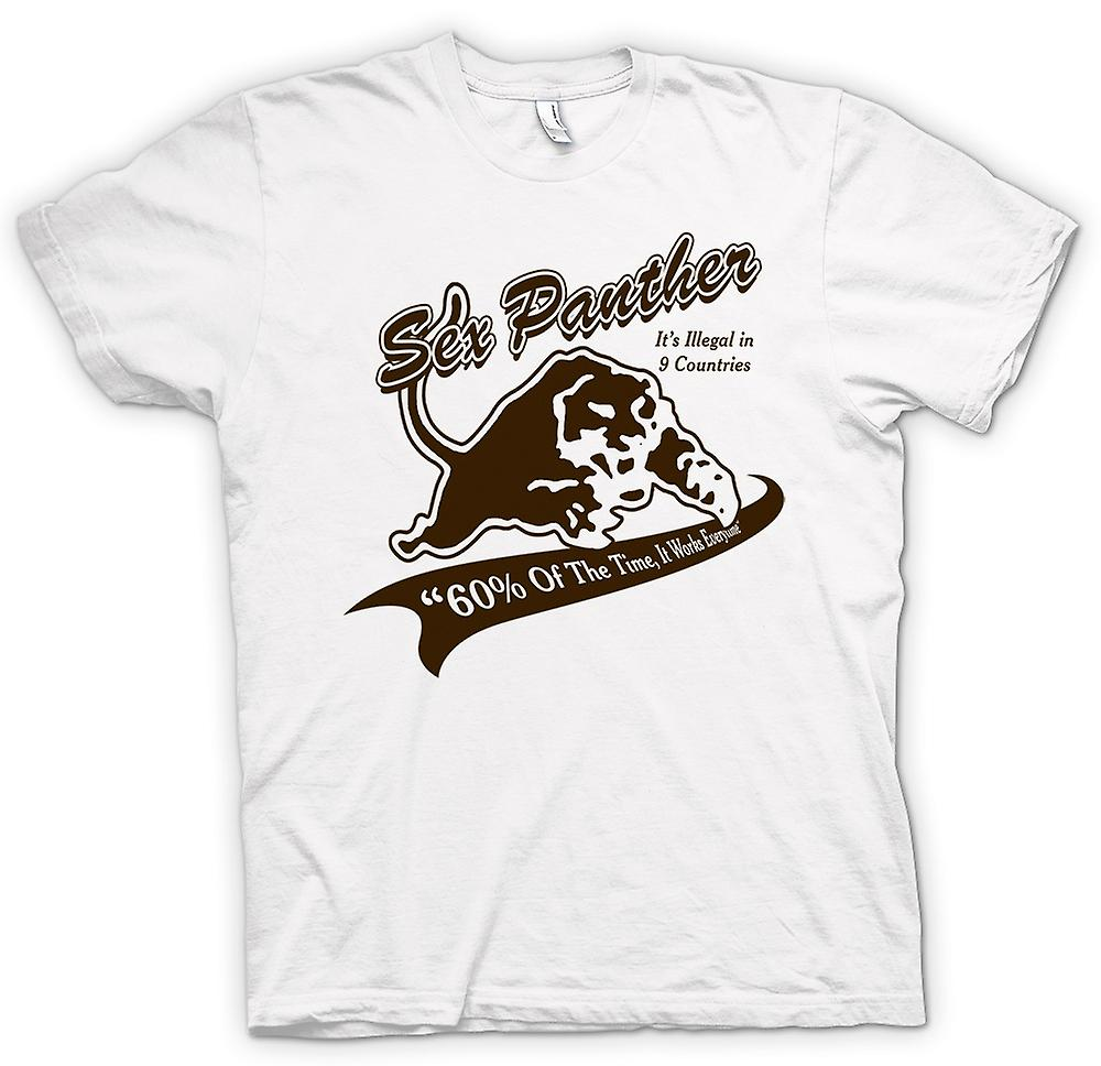 Womens T-shirt - Anchor Man - Sex Panther - rolig